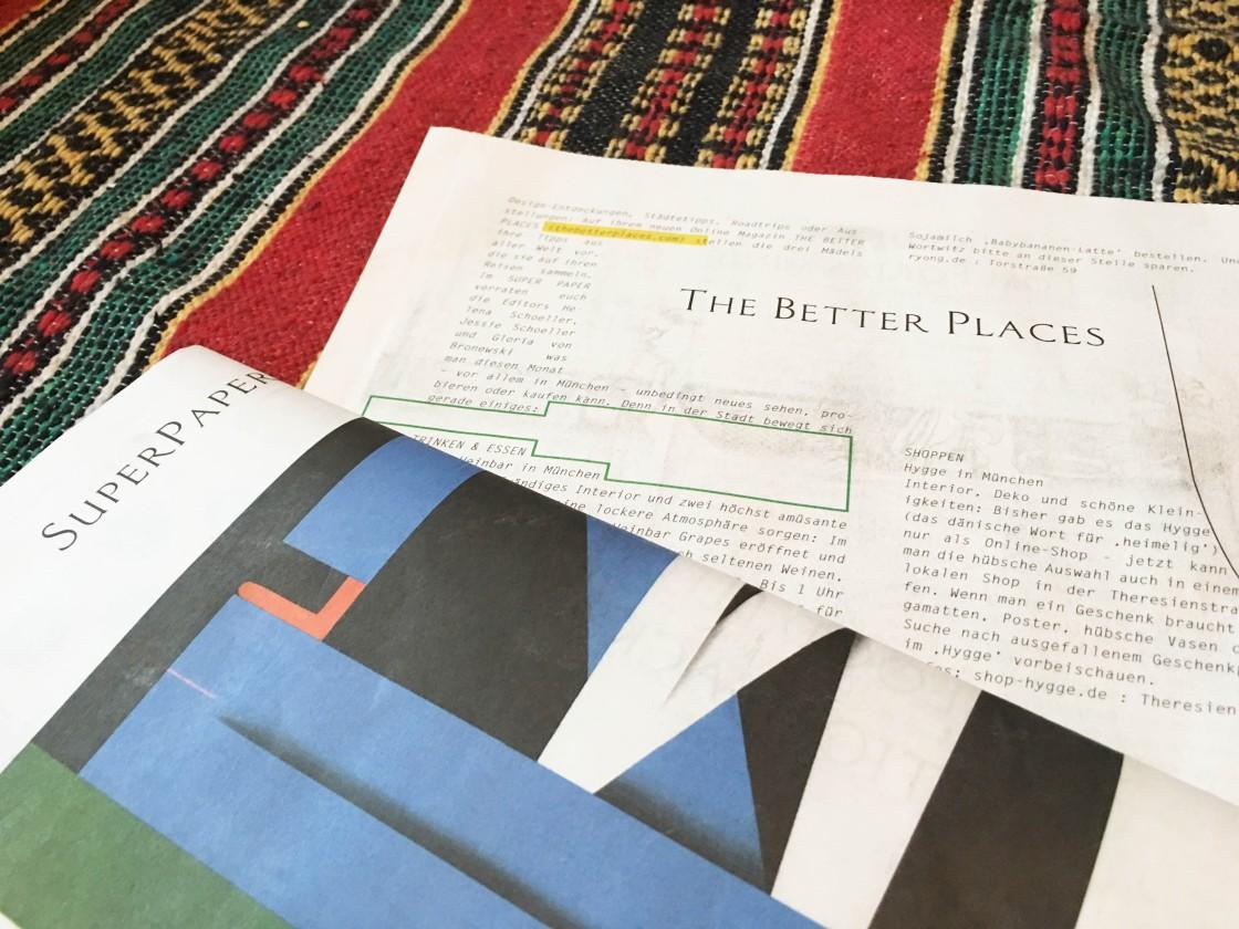 The BEtter Places Super Paper München Column