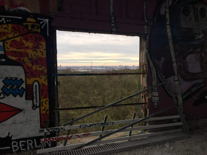 Teufelsberg Berlin Street art places to see Berlin The better places Germany travel blog.jpg