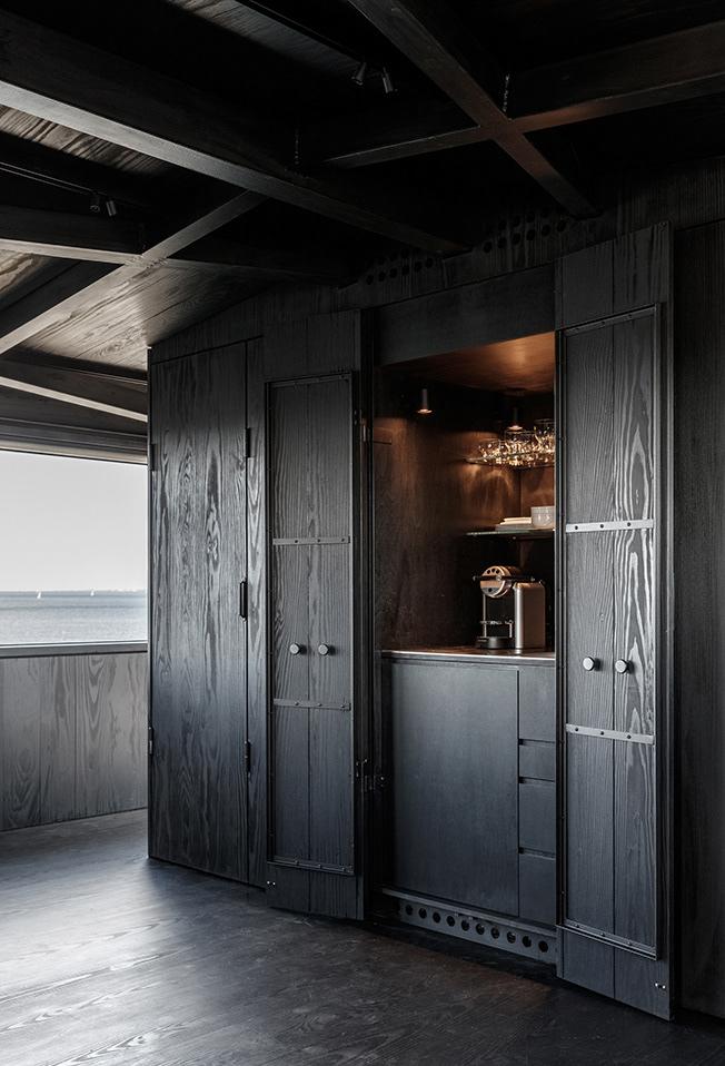 The Krane Copenhagen Copenhagen Design Hotel Industrial Architecture The Better Places Travel Magazine Germany & HOTEL WITH ONE ROOM: THE ALL-BLACK KRANE IN COPENHAGEN