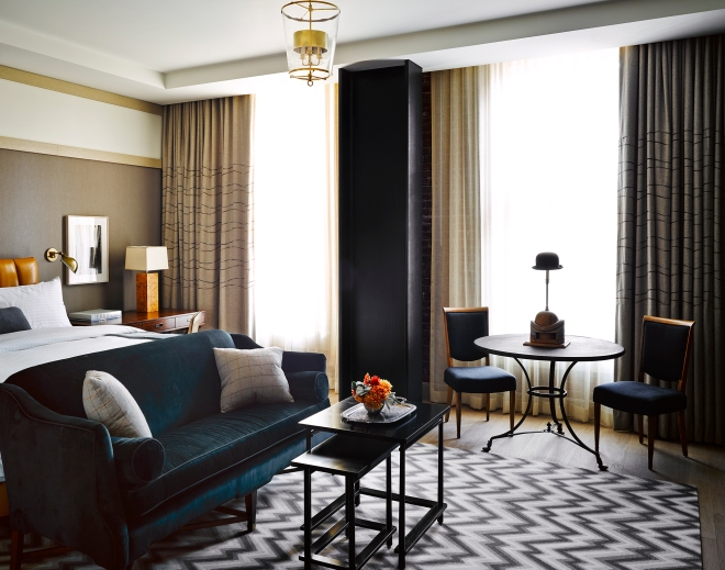 THE BETTER PLACES The Battery Hotel San Francisco Members Club Travel Blog Germany Design Hotels